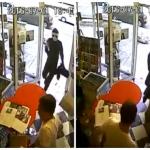 بالفيديو: كلب شجاع يحمي متجراً من سطو مسلح