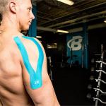 بالصور: الكشف عن سر  وضع الرياضيين أشرطة  على أجسادهم