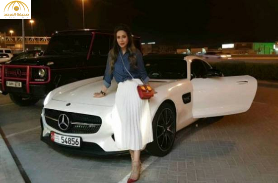 """بالفيديو: لجين عمران تتلقى هدية سيارة """"مرسيدس كوبيه"""" جديدة"""