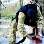 داعشي يدعو أقاربه لحضور عملية نحر والده في الموصل