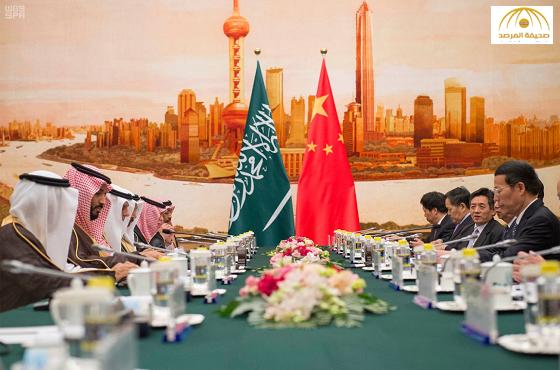 بالصور:ولي ولي العهد ونائب رئيس وزراء الصين يشهدان توقيع 17 اتفاقية ومذكرة تفاهم