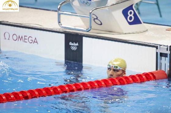 سخرية على تويتر من نتيجة سباح فلسطيني في الأولمبياد !