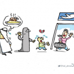 """شاهد: أفضل كاريكاتير """"الصحف"""" ليوم الأحد"""