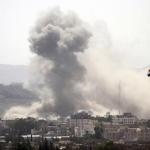 طيران التحالف يضرب مواقع الانقلابيين في صنعاء