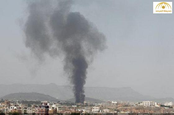 بالفيديو:مقاتلات التحالف تكثف غاراتها على صنعاء وعمران وصعدة