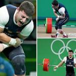 بالفيديو والصور: إصابة مروعة لرباع أرميني في منافسات رفع الأثقال بأولمبياد ريو
