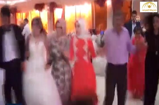 بالفيديو: انفجار خلال الاحتفال بعرس في تركيا