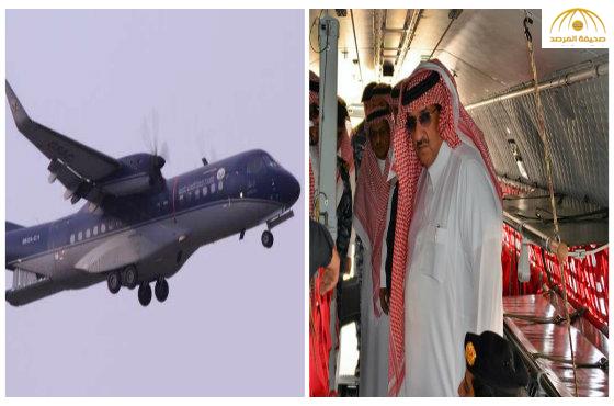 تعرف على الطائرة المجنحة التي استعرضت إمكانياتها أمام ولي العهد – صور