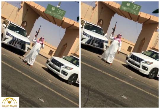 القبض على شاب أطلق النار من سلاح رشاش أمام إحدى الجهات الحكومية بالقصيم