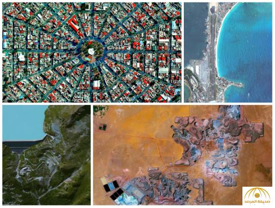 شاهد: صور مثيرة من الفضاء تظهر شكل الأرض كما لم نراه من قبل