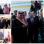 بالصور : ولي العهد يصل إلى تركيا