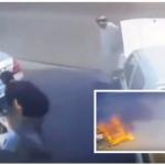 فيديو: حرق سيارة متوقفة أمام منزل بجدة وصاحبها يرصد مكافأة لمن يدل على الجناة