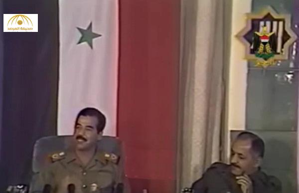 """فيصل القاسم يعيد نشر فيديو قديم لـ""""صدام حسين"""" يحذر من أطماع إيران التوسعية في الدول العربية"""
