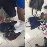 بالفيديو : لحظة ضبط فتيات حاولن سرقة محل إكسسوارات بالدمام