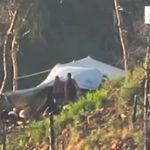 بالفيديو : لحظة استهداف خيمة مليئة بالشبيحة بصاروخ تاو في ريف اللاذقية