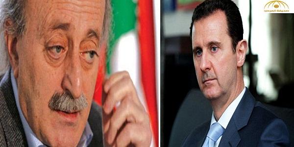 جنبلاط : سوريا تشهد تطهيراً طائفياً للسُنّة .. وأفضِّل الانتحار على مصافحة بشار