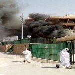 """""""جوازات الرياض"""" تكشف سبب اندلاع حريق وخروج دخان كثيف بها صباح اليوم – فيديو"""