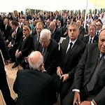 مصر والأردن بين وفود من 70 دولة لتشييع بيريز بإسرائيل-فيديو