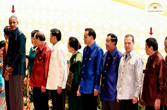 """وجبة عشاء تجمع  أوباما بالرئيس الفلبيني بعد وصفه بـ""""ابن العاهرة""""-صور"""
