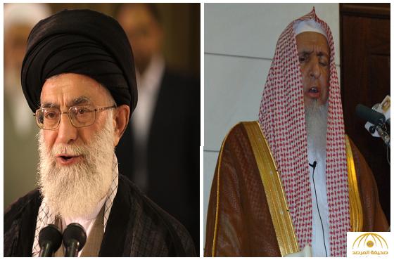 """المفتي يشن هجوما عنيفا على  النظام الإيراني  ومرشده """" خامنئي""""ويؤكد بأنهم ليسوا مسلمين"""