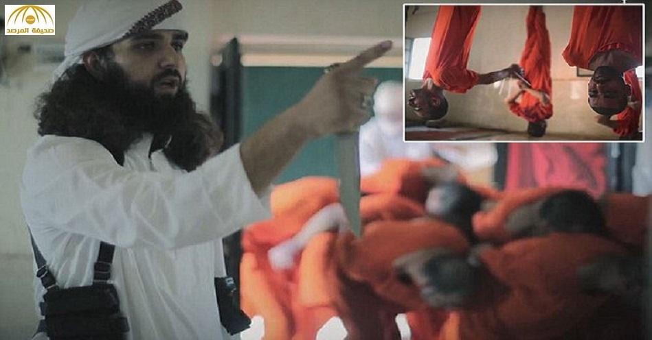 بالصور: داعش يحتفل بعيد الأضحى بذبح عشرات السجناء في مسلخ للخراف بدير الزور