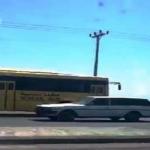 """بالفيديو: شاهد..باص طلاب يسير عكس الاتجاه بحائل.. و""""المرور"""" يتفاعل"""