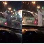 بالفيديو:خلاف  بين مصري وسعودي على موقف سيارة يتحول إلى مصارعة حرة