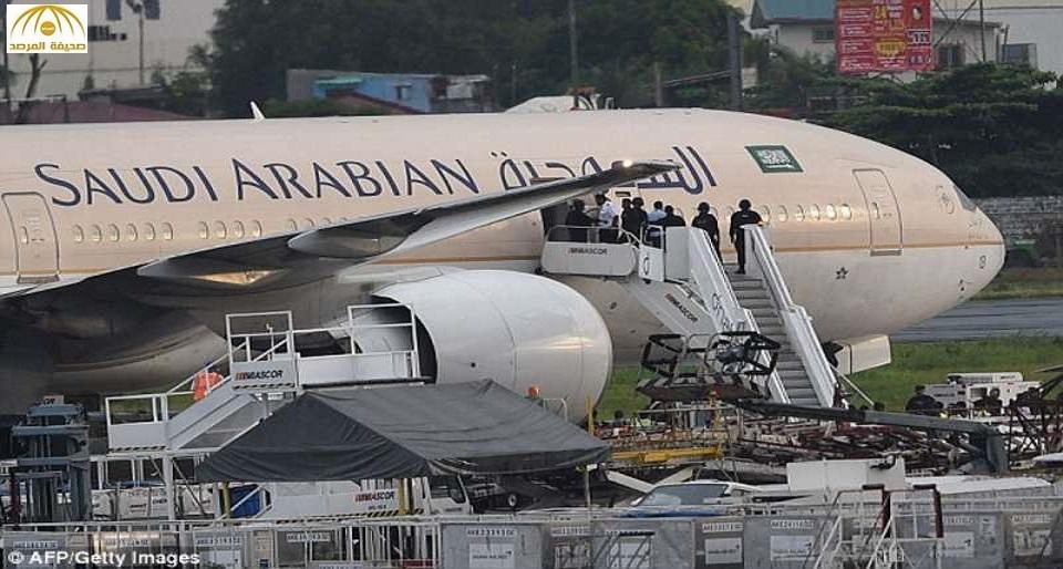 العقوبة تنتظر كابتن الطائرة السعودية في مانيلا.. والسبب !!