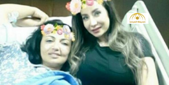 شاهد .. لجين عمران توثّق فيديو لـ فاديا الطويل قبل إجراء عملية استئصال السرطان من الدماغ