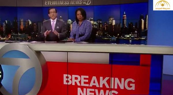 بالفيديو : مذيع أميركي يعلن وفاة هيلاري كلينتون !
