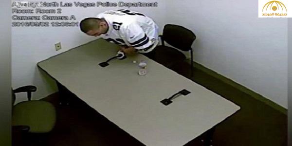 بالفيديو : لحظة هروب قاتل من السجن بعد أن كسر قيوده