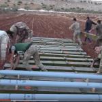 """فيديو : شاهد صواريخ """"غراد"""" بمدى 40 كم بيد الجيش السوري الحر"""