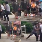"""فيديو: قتال """"كونج فو"""" بين رجلين في الصين يثير السخرية على مواقع التواصل"""