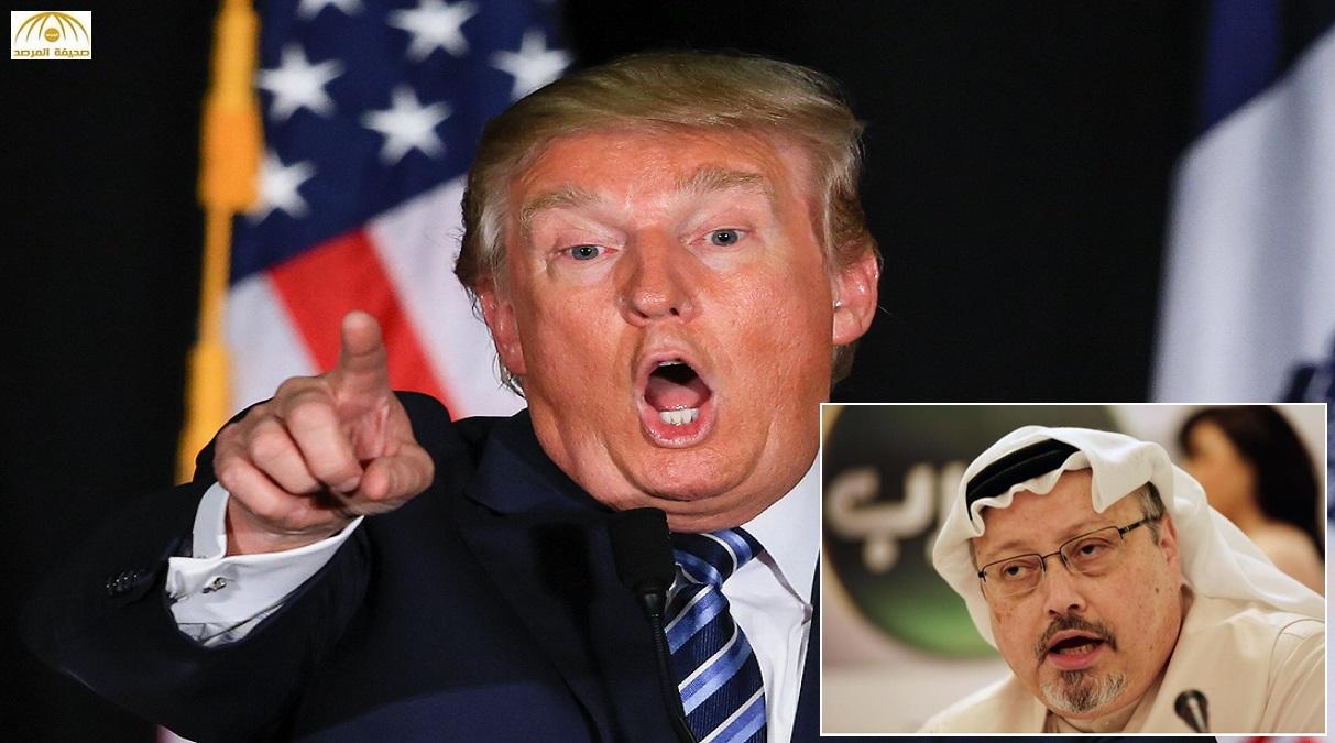 """ترامب يطالب السعودية بدفع """"الإتاوة"""".. وخاشقجي يرد"""