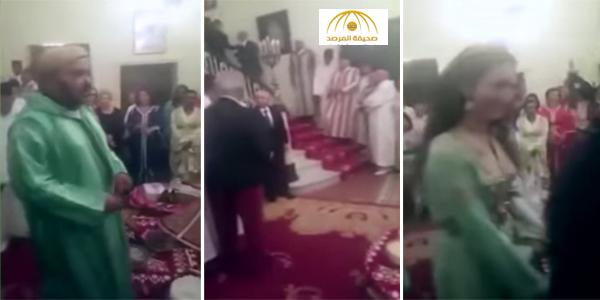 فيديو : ملك المغرب يحضر حفل زواج .. شاهد ردة فعل الحاضرين!