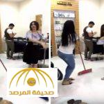 بالفيديو : مريم حسين ترقص بدلع و إثارة أمام حلاقي صالون تجميل