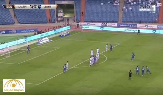 بالفيديو : الهلال يهزم الشباب بهدفين دون مقابل و يتأهل لنصف نهائي كأس ولي العهد