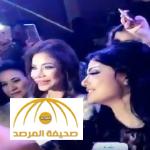 بالفيديو:رقص وغناء في عيد ميلاد لجين عمران