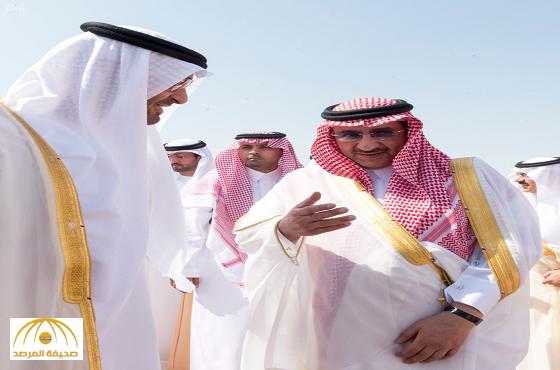 بالصور:الشيخ محمد بن زايد يصل الرياض