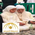بالصور: شاهد الأميرة هيا زوجة حاكم دبي وابنتها  تؤديان مناسك العمرة