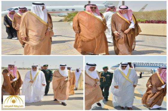 بالصور: وزراء خارجية دول مجلس التعاون يصلون الرياض