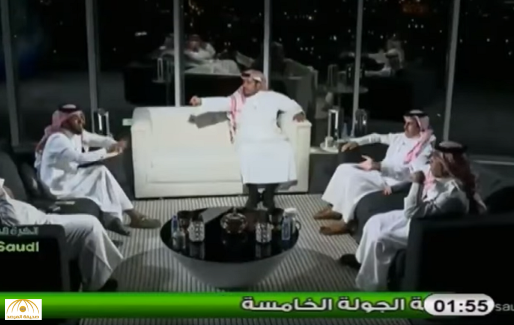 """بالفيديو: تلاسن بالألفاظ بين """"المريسيل"""" و""""الذايدي"""".. ومذيع البرنامج  يا شباب سلامات!"""