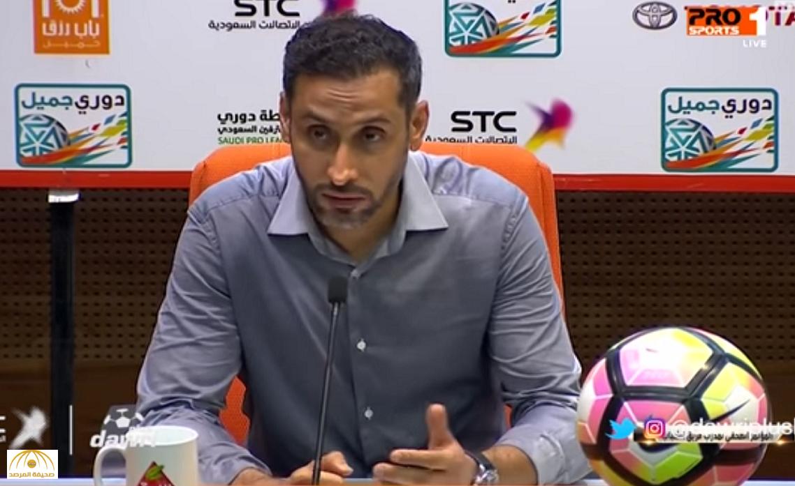"""فيديو: سامي الجابر يكشف السر وراء فوز """"الشباب"""" على الاتحاد بملعب الجوهرة"""