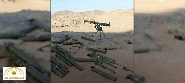 بالصور .. شاهد الأسلحة التي أستولى عليها الجيش اليمني من الانقلابيين بالبقع