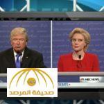 بالفيديو .. شاهد كيف سخر كوميدي أمريكي من مناظرة ترامب وكلينتون