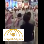 """فيديو: مسافرون يرقصون """"الدحة"""" داخل مطار الكويت"""