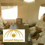 """شاهد ماذا دار بين أمير الرياض ووزير النقل في أول رحلة لقطار """"سار"""""""