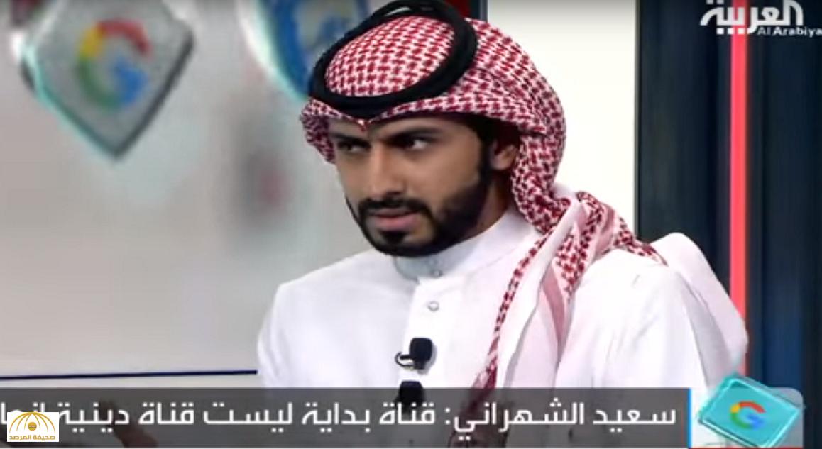 """بالفيديو: مذيع قناة """"بداية"""": لست ملتزما دينيا وسأستضيف نساء"""