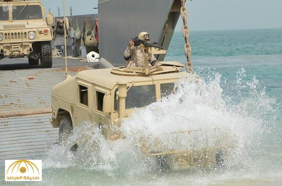 أول تعليق إيراني على مناورات السفن الحربية السعودية في مياه الخليج  ومضيق هرمز
