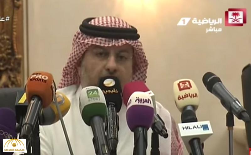 """فيديو: بعد تشكيكه بحيادية """"توثيق البطولات"""".. عبدالله بن مساعد لـ""""المريسل"""": مو شغلك"""
